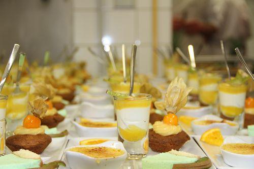 dessert, présentation sur assiette, anniversaire en bretagne